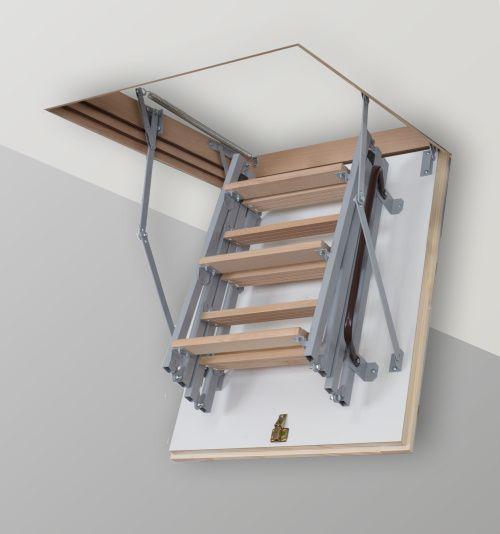 горищні сходи матеріал метал